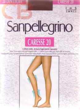 COLLANT CARESSE 20 DEN Collant 20 denari, velato in lycra, leggermente riposante.