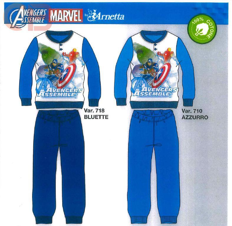 Marvel Avengers Assemble Pigiama Bambino