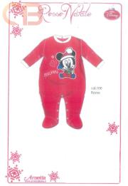 DISNEY-Clothes-SLEEPSUIT-Newborn-Christmas-lingerie-SLEEPSUIT-BABY-24601-Chenille