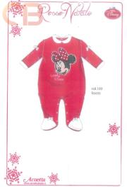 DISNEY-Clothes-SLEEPSUIT-Newborn-Christmas-lingerie-SLEEPSUIT-BABY-24602-Chenille