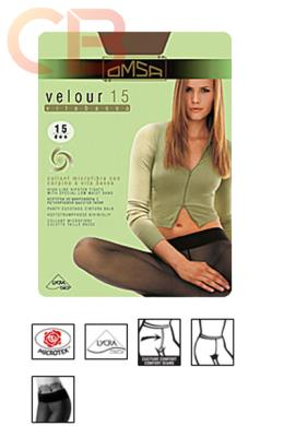 COLLANT VELOUR 15 VITA BASSA Collant velato