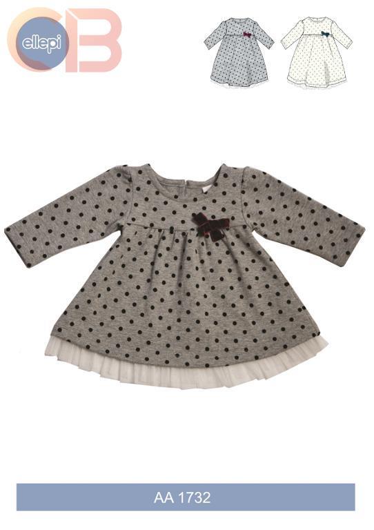 6ff4c2dd117c Abbigliamento abito Neonato ELLEPI - Abitino BABY aa1732 - Ingrosso ...