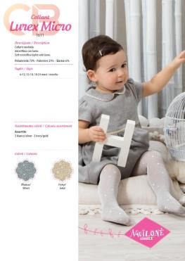 AQUILONE-Collant-BABY-lurex-micro