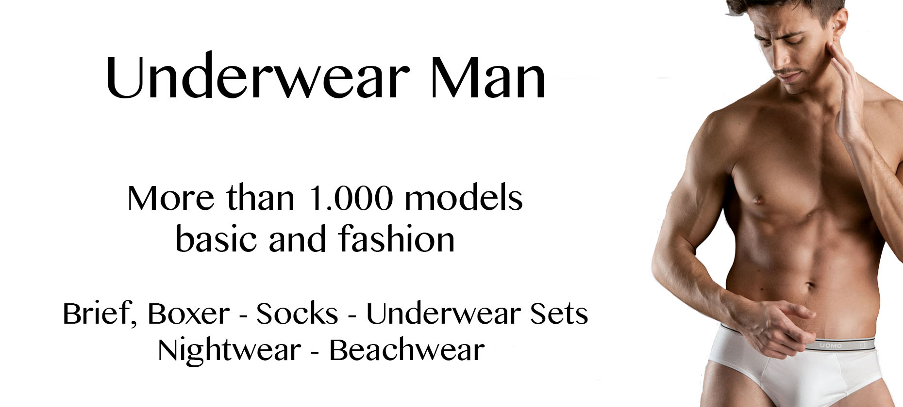 Wholesale and distribution brief short socks nightwear man