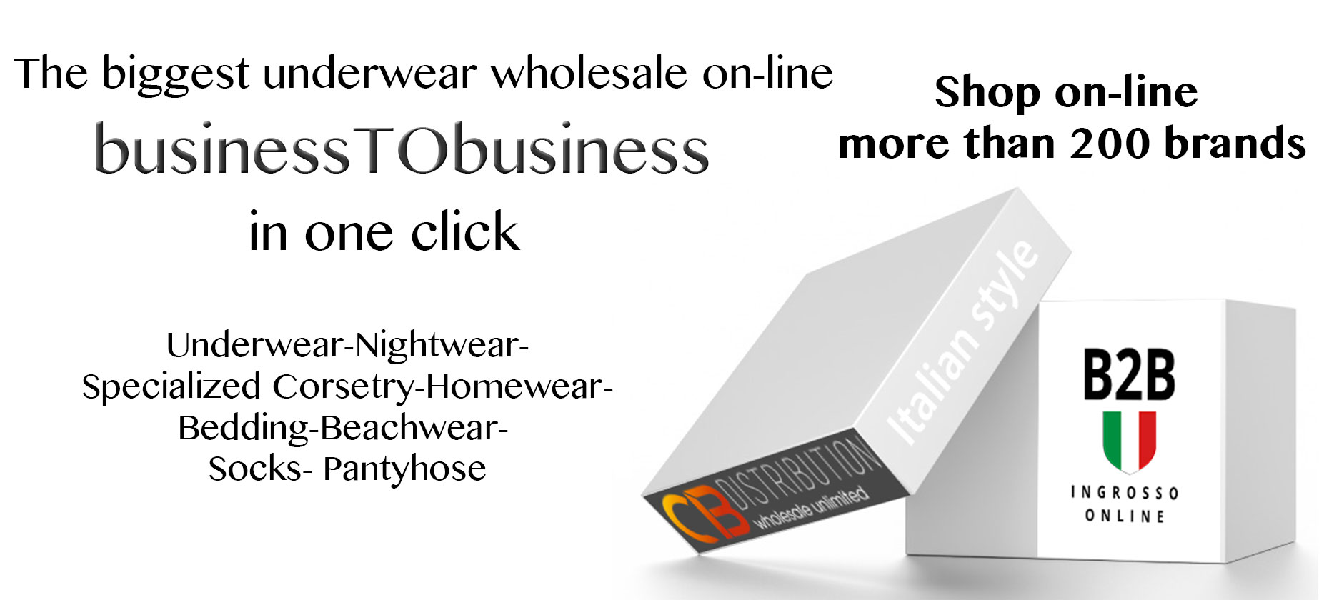 Wholesale and distribution clothes underwear online